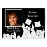 Invitación de la graduación - vea la nueva versión tarjeta