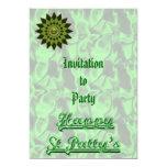Invitación de la joya #1 de la estrella del invitación 12,7 x 17,8 cm