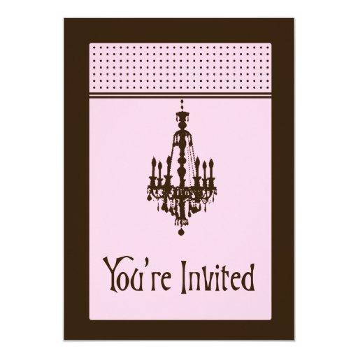 Invitación de la lámpara - personalizada