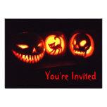 Invitación de la linterna de Halloween Jack o