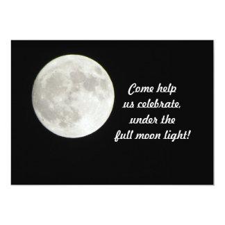 Invitación de la Luna Llena