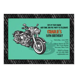 Invitación de la motocicleta