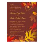 Invitación de la muestra - celebración del boda postal