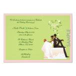 Invitación de la MUESTRA del boda Invitación 12,7 X 17,8 Cm