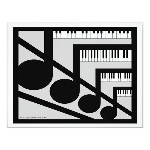 Invitación de la música del piano