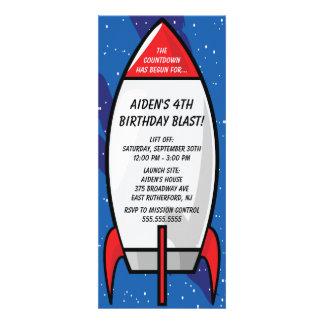Invitación de la nave de Rocket