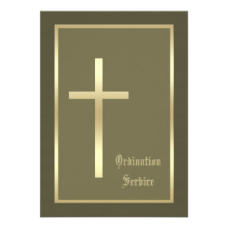 Invitación de la ordenación de la iglesia -- Invit