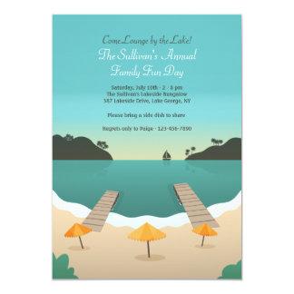 Invitación de la orilla del lago