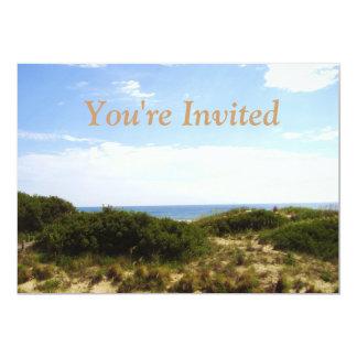 Invitación de la playa