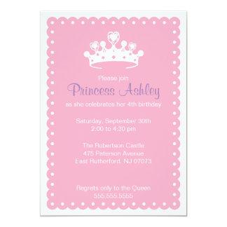 Invitación de la Princesa Real
