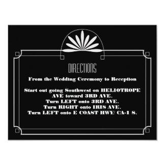 Invitación de la recepción del boleto de teatro invitación 10,8 x 13,9 cm