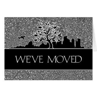 Invitación de la relocalización de negocio tarjeta de felicitación