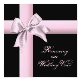 Invitación de la renovación del boda - regalo del