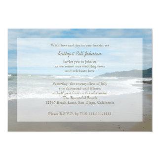 Invitación de la renovación del voto de boda por