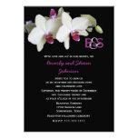 Invitación de la renovación del voto -- Orquídeas