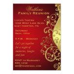 Invitación de la reunión de familia