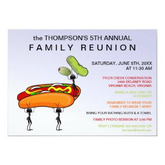 Invitación de la reunión de familia de los