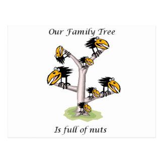 Invitación de la reunión de familia tarjeta postal