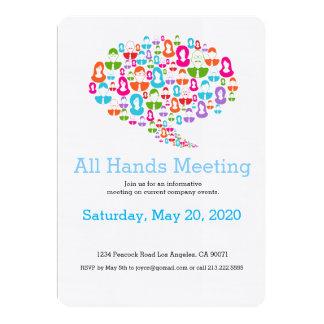 Invitación de la reunión del equipo de la