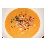 Invitación de la sopa invitación 12,7 x 17,8 cm