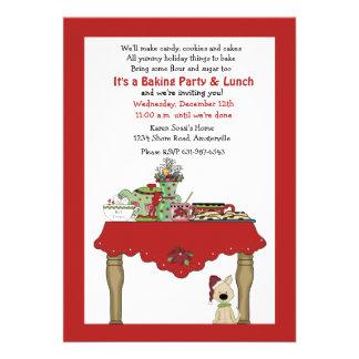 Invitación de la tabla del día de fiesta