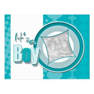 Invitación de la tarjeta de la foto del bebé postales