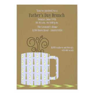 Invitación de la taza del día de padre