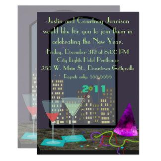 Invitación de la ventana de Noche Vieja