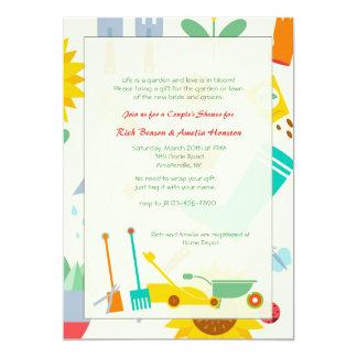 Invitación de la vertiente del jardín