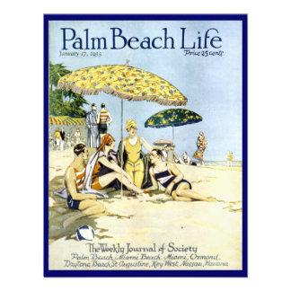 Invitación de la vida 3 del Palm Beach