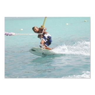 Invitación de la vuelta de Wakeboarding
