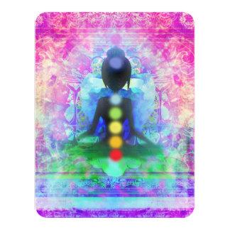 Invitación de la yoga de la meditación