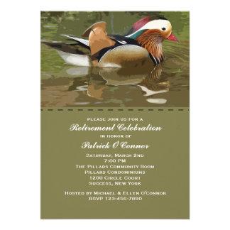 Invitación de las aves del agua