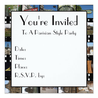 Invitación de las colecciones de París
