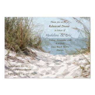 Invitación de las dunas de la playa