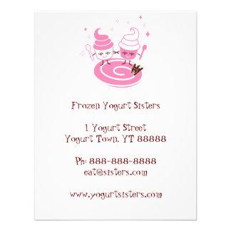 Invitación de las hermanas del yogurt congelado