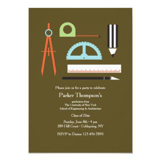 Invitación de las herramientas del arquitecto