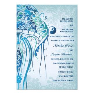 Invitación de las medusas del Aquamarine