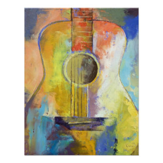 Invitación de las melodías de la guitarra