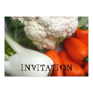INVITACIÓN de las verduras