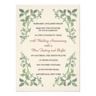 Invitación de las vides de Versalles