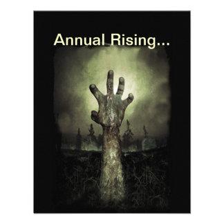 Invitación de levantamiento anual del fiesta de Ha