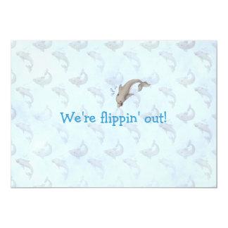 Invitación de LGC el   Flippin hacia fuera Invitación 12,7 X 17,8 Cm