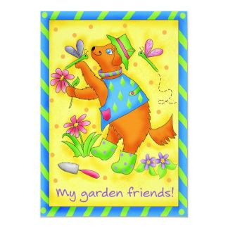 Invitación de los amigos del jardín