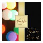 Invitación de los Años Nuevos del día de fiesta de