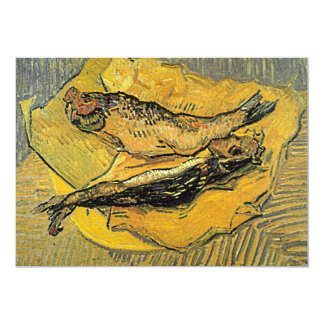 """Invitación de los """"arenques ahumados"""" de Van Gogh"""