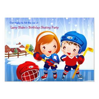 Invitación de los bebés del hockey sobre hielo