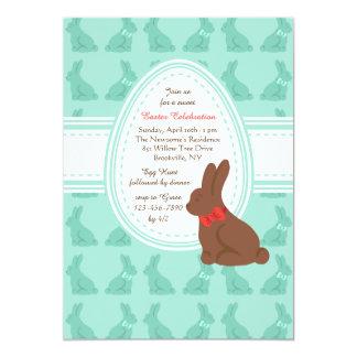 Invitación de los conejitos de pascua