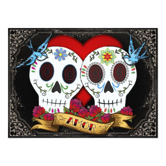 Invitación de los cráneos del amor