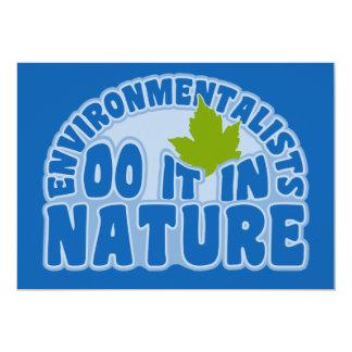 Invitación de los ecologistas, personalizar